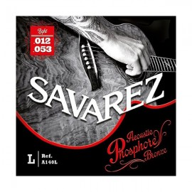 SAVAREZ JEU CORDES LIGHT GUITARE ACOUSTIQUE