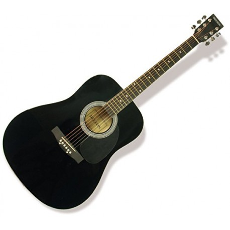 DELSON GUITARE FOLK 4-4 BLACK