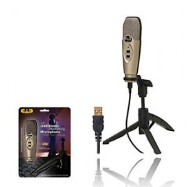 CAD AUDIO  -  MICROPHONE DE STUDIO USB