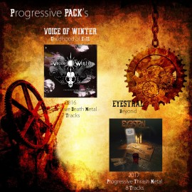 PROGRESSIVE PACK - 2 Digipack