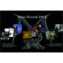 Pack Music-Records  -  11 Albums