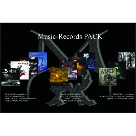 Pack Music Records 12 CD