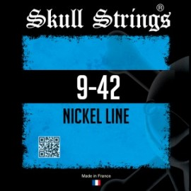 Skull Strings Nickel line standard 9-42