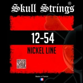 Skull Strings Nickel line standard 12-54