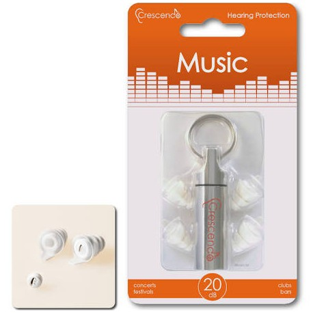 Crescendo Music Ear Plugs
