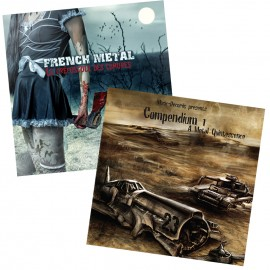 "Pack 2 Compilations ""French Metal + Compendium"""