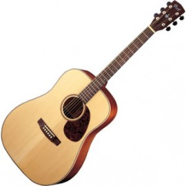 GUITARE CORT ELECTRO ACOUSTIQUE NATUREL SATINE