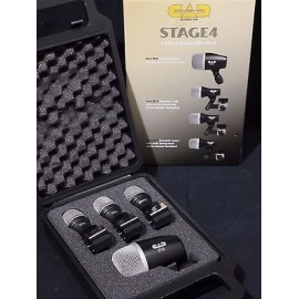 CAD AUDIO - Stage 4 Drum Mic Pack