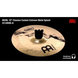 "SPLASH MEINL C.CUSTOM 10"" EXTREME METAL"