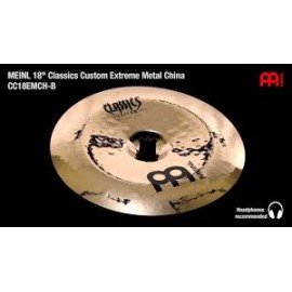 "CHINOISE MEINL C.CUSTOM 18"" EXTREME"
