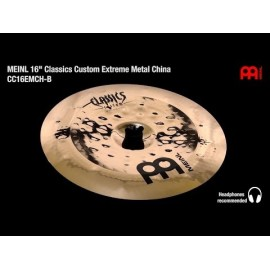 "CHINOISE MEINL C.CUSTOM 16"" EXTREME"