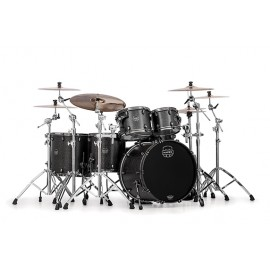 MAPEX SATURN V 5 FUTS FLAT BLACK MAPLE BURL