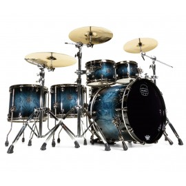 MAPEX SATURN V 5 FUTS DEEP WATER MAPLE BURL