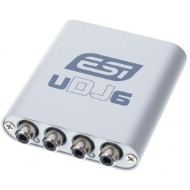 ESI INTERFACE AUDIO USB  UDJ6