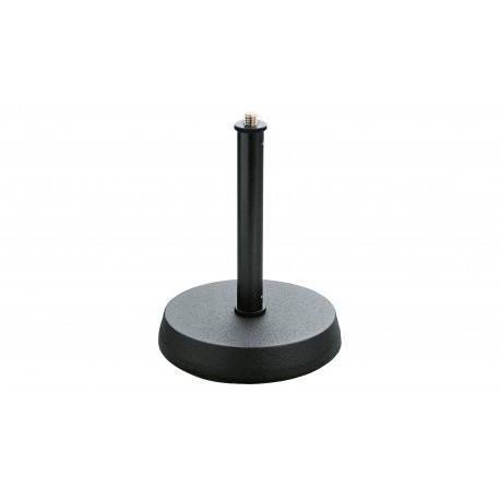 SUPPORT MICRO DE TABLE KM SOCLE ROND