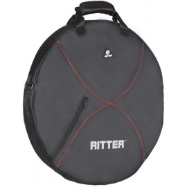 HOUSSE RITTER CYMBALES NOIR/ROUGE