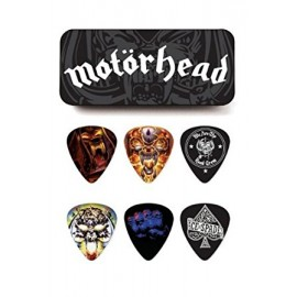 DUNLOP 6 X 6 MEDIATORS MOTORHEAD MEDIUM