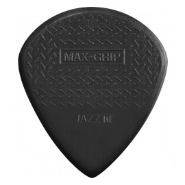 DUNLOP SACHET 24 MEDIATORS JAZZ III MAX GRIP NOIR