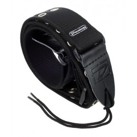 DUNLOP COURROIE NYLON GROMMET BLACK