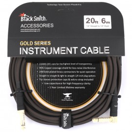 BLACKSMITH CABLE GUITARE 6 M