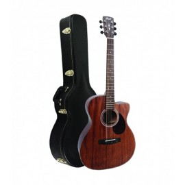 GUITARE CORT AS OC4 ACAJOU CW OPEN PORE
