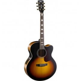 GUITARE CORT ELECTRO ACOUSTIQUE TOBACCO SUNBURST