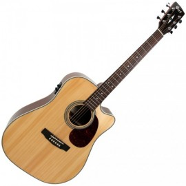 GUITARE CORT MR600F NATUREL BRILLANT