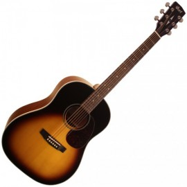 CORT GUITARE ACOUSTIQUE COMPACTE TOBACCO BURST