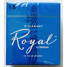D'ADDARIO ANCHES ROYAL POUR CLARINETTE FORCE 1.5
