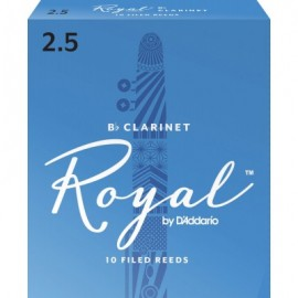 D'ADDARIO ANCHES ROYAL POUR CLARINETTE FORCE 2.5