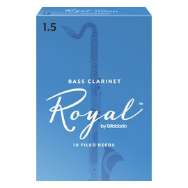 D'ADDARIO ANCHES ROYAL POUR CLARINETTE BASSE FORCE 1.5