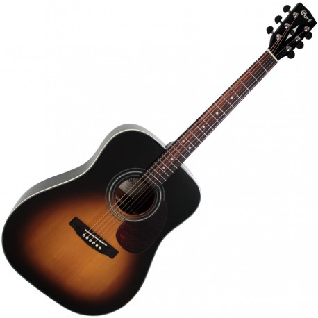 CORT GUITARE ACOUSTIQUE SERIE EARTH VINTAGE BURST