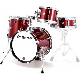 LUDWIG BREAKBEAT WINE RED SPARKLE