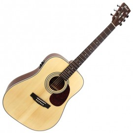 CORT GUITARE ELECTRO ACOUSTIQUE NATUREL