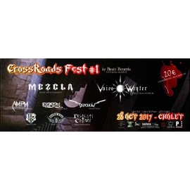 CROSSROADS FEST. - TICKET DE CONCERT